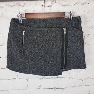 Guess Tweed Mini Wrap Skirt Size 28